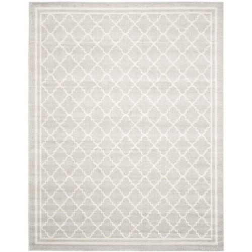 Safavieh Amherst Light Gray/Beige 10 ft. x 14 ft. Indoor/Outdoor Area Rug