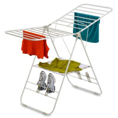 Honey-Can-Do Gull Wing Clothes Dryer in White