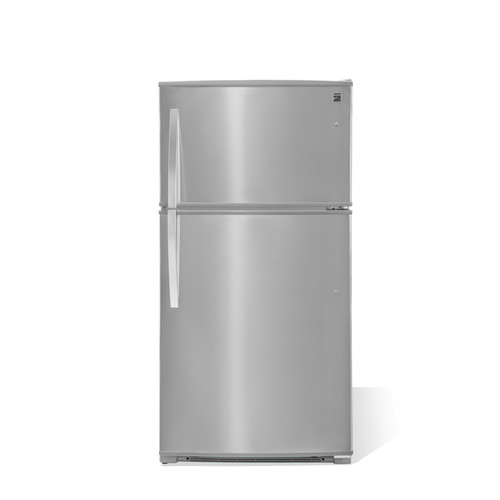 Kenmore 61215 20.8 cu. ft. Top-Freezer Refrigerator - Fingerprint Resistant Stainless Steel