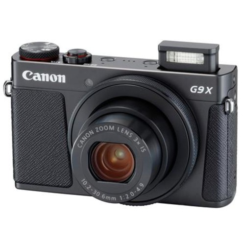 Canon PowerShot G9 X Mark II 20.1MP Camera Black And Special Promotional Kit