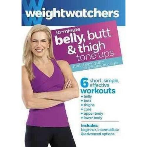 Weight Watchers: 10-Minute Belly, Butt & Thigh Tone Ups [DVD]