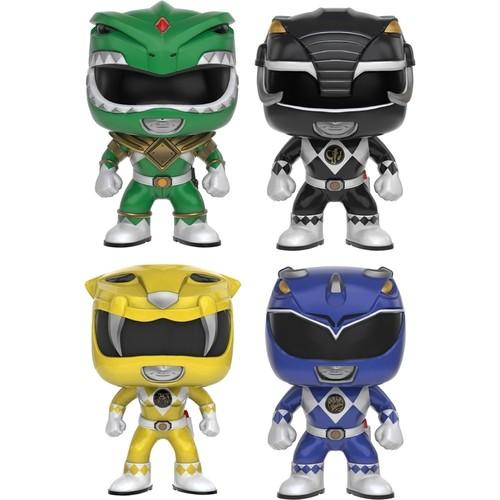 Funko - Power Rangers Collectors Set POP! Vinyl Figures