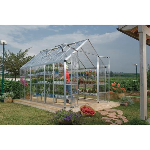 Palram Snap & Grow Greenhouse  8ft.W x 12ft.L, 96 sq. ft., Model# HG8012