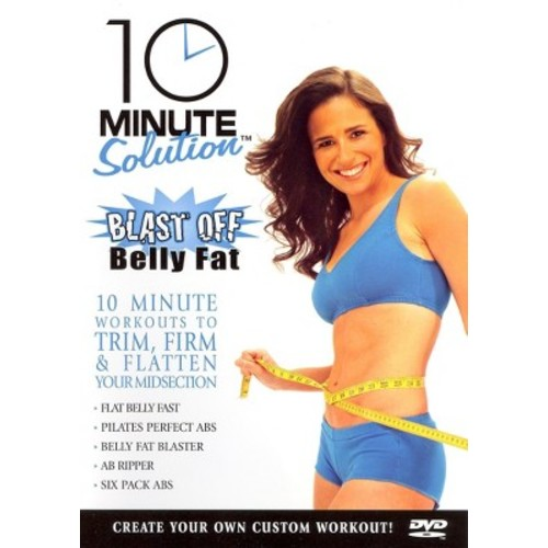 10 Minute Solution: Blast Off Belly Fat (dvd_video)