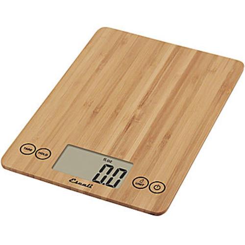 Escali Arti Bamboo Digital Food Scale