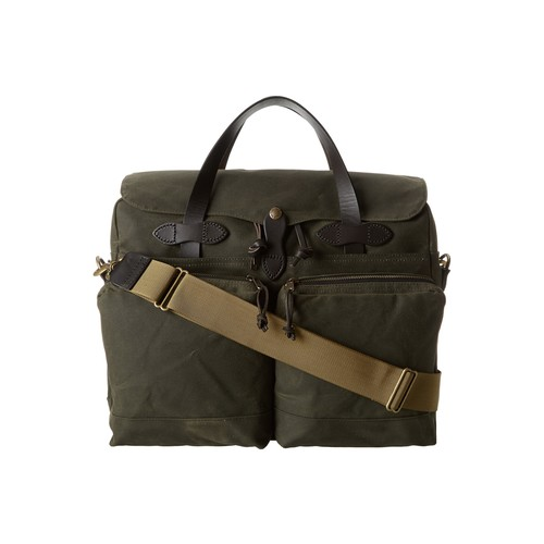 Filson 24 Hour Tin Briefcase, Otter Green 70140-OT