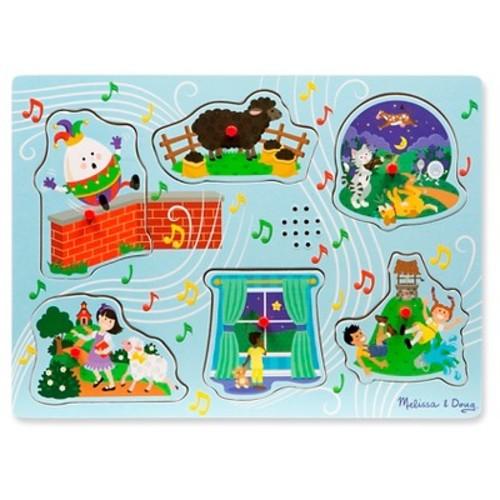 Melissa & Doug Nursery Rhymes 2 - Sound Puzzle 6pc