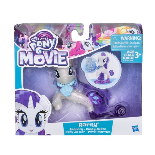 My Little Pony The Movie Sea Pony 3-inch Figure - Rarity