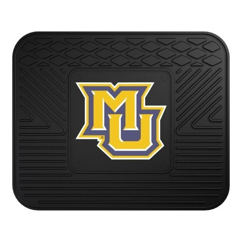 Fanmats 12141 Marquette University Golden Eagles Rear Second Row Vinyl Heavy Duty Utility Mat [Black, Rear]