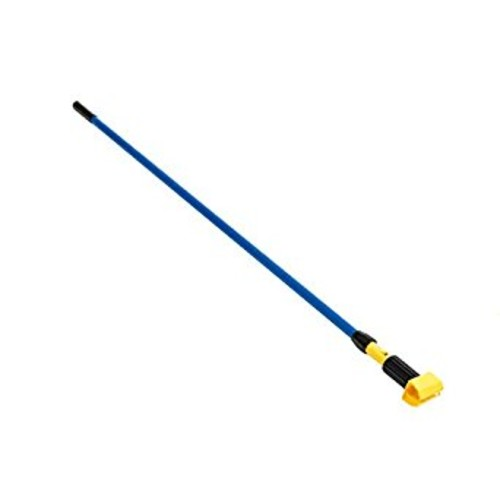 Rubbermaid Commercial H246BLU Gripper Fiberglass Mop Handle, 60