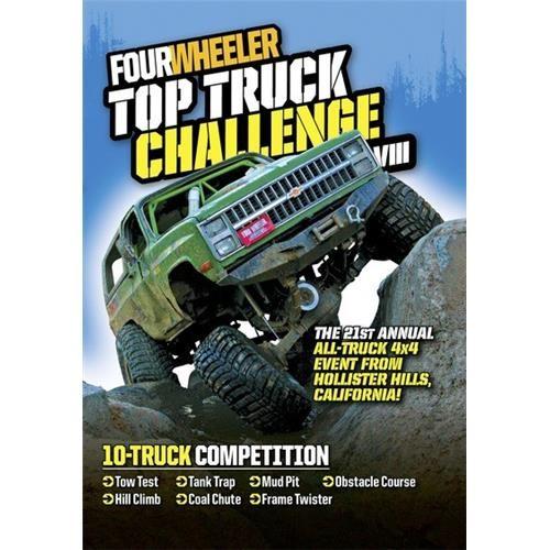 Four Wheeler Top Truck Challenge VIII (2 disc) DVD-5