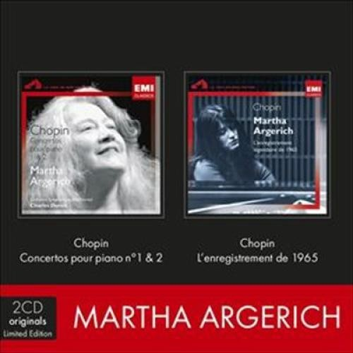 Chopin: Concertos pour piano No 1 & 2 / Chopin: L'enregistrement de 1965 [CD]