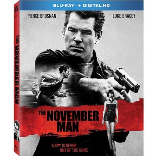 The November Man (Blu-ray + Digital HD) (With INSTAWATCH) (Widescreen)