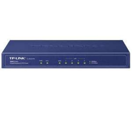 TP-Link SafeStream Gigabit Broadband VPN Router - 120Mbps, 5x Ports, Gigabit WAN/LAN, RJ-45, DDR II 64MB - TL-ER600VPN