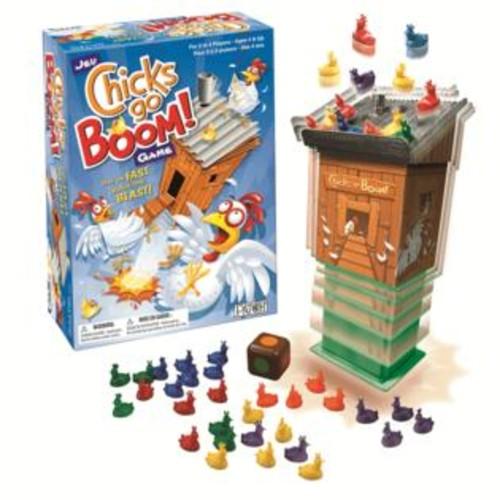 PlayMonster PAT26764 Chicks Go Boom Game