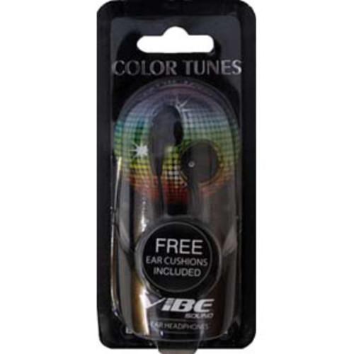 Vibe VS-120 Black Stereo Earbuds