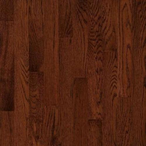 Bruce Take Home Sample - American Originals Deep Russet Oak Engineered Click Lock Hardwood Flooring - 5 in. x 7 in.
