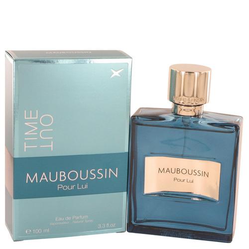 Mauboussin Pour Lui Time Out by Mauboussin Eau De Parfum Spray 3.4 oz Men