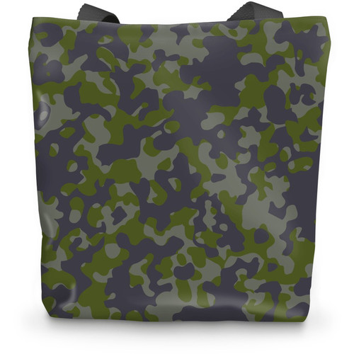 Gray Green CAMO Tote Bag