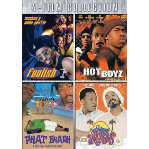 Four-Film Collection: (Foolish / Hot Boyz / Phat Beach / The Wash)