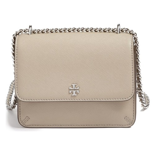 TORY BURCH Mini Robinson Convertible Leather Shoulder Bag