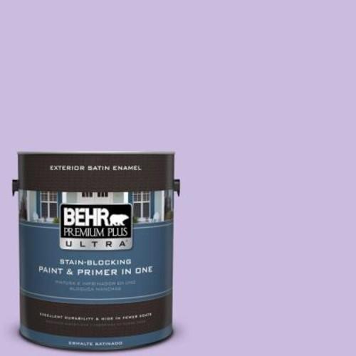 BEHR Premium Plus Ultra 1-gal. #P570-2 Confetti Satin Enamel Exterior Paint