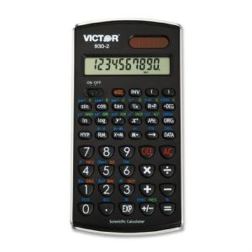 Victor Technology 930-2 - Scientific calculator - 10 digits + 2 exponents - solar panel, (930-2)