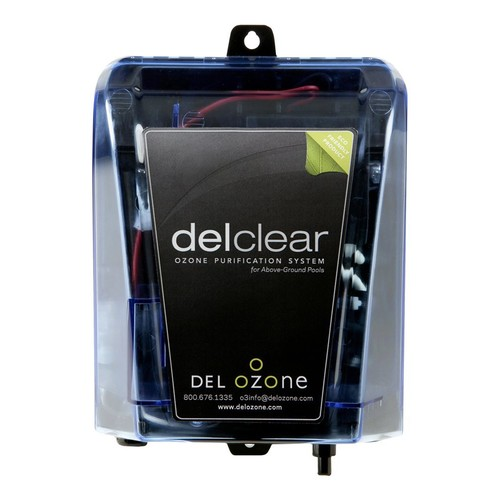 Del Ozone Del Clear Ozonator for Above Ground Pools [18L x 6W x 3H in.]