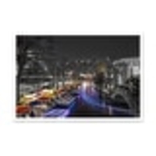 San Antonio Touch of Color Skylines Matte Poster 36x24