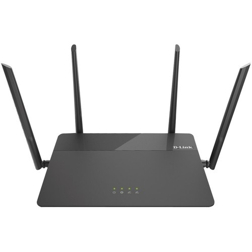 D-Link - Wireless-AC1900 Dual-Band Wi-Fi Router - Black