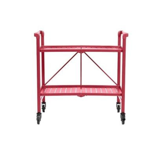Cosco Smartfold Ruby Red Serving Cart