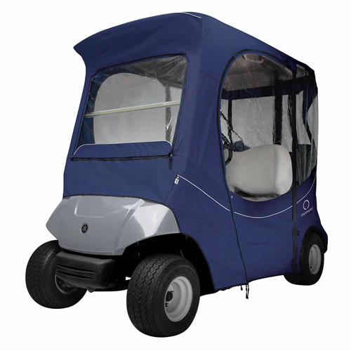 Classic Accessories FadeSafe Drive by Yamaha Navy Golf Car Enclosure
