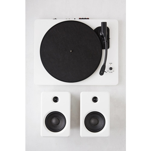 EP-33 Bluetooth Turntable With Speakers - White [REGULAR]