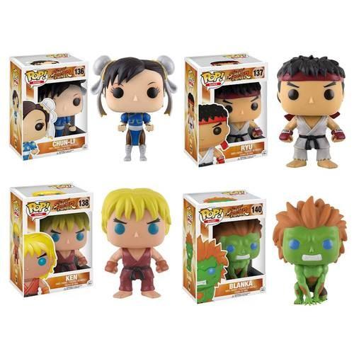 Funko - POP! Games: Street Fighter Collector's Set