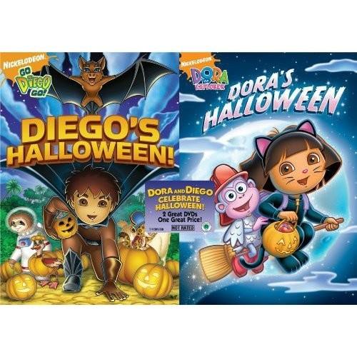 Dora the Explorer: Dora's Halloween/Go Diego Go!: Diego's Halloween [2 Discs] [DVD]