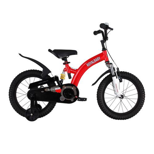 Flying Bear Full Suspension Kid's Bike, 16 inch bike for boys or girls