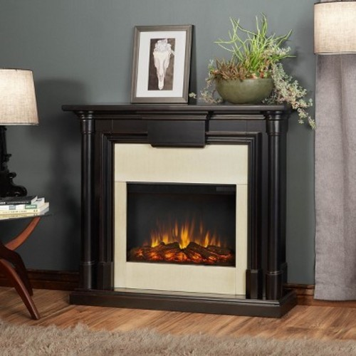 Real Flame - Maxwell Electric Fireplace - Blackwash