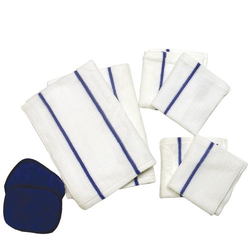 Don Aslett's 8-Piece Microfiber Kitchen Towel Set