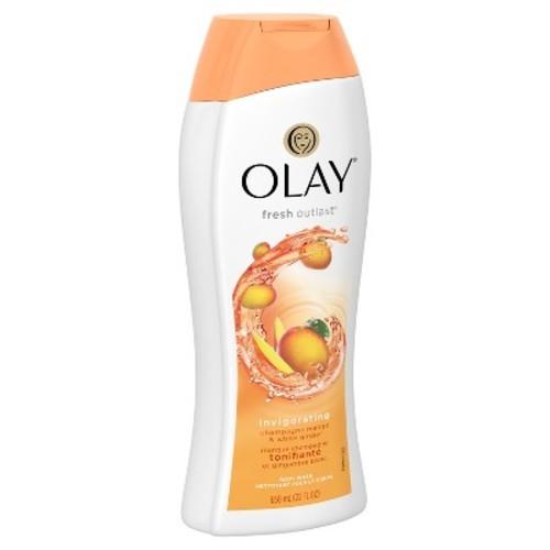 Olay Fresh Outlast Invigorating Champagne Mango & White Ginger Body Wash - 22oz