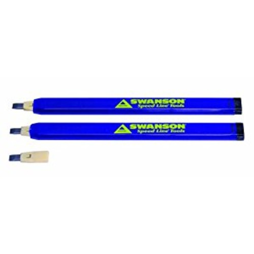 Swanson Tool CP216 Always Sharp Refillable Carpenter Pencil [1-Pack]