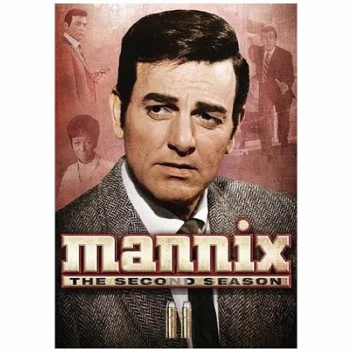 MANNIX-2ND SEASON (DVD/6 DISCS)
