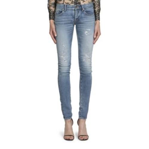 SAINT LAURENT Vintage Low Waist Jeans