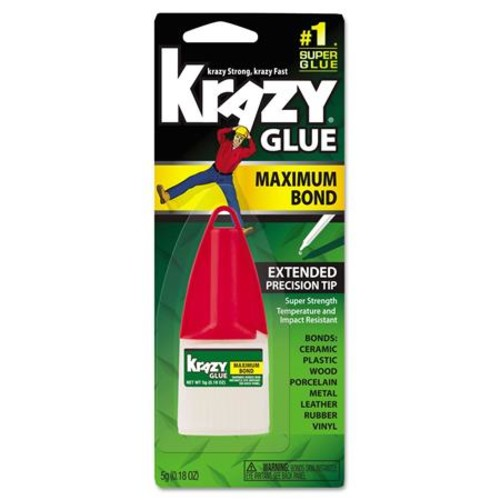 Krazy Maximum Bond Krazy Glue with Extended Precision Tip EPIKG48348MR