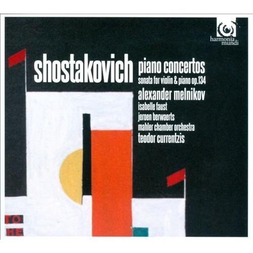 Shostakovich: Piano Concertos; Violin Sonata, Op. 134 [CD]
