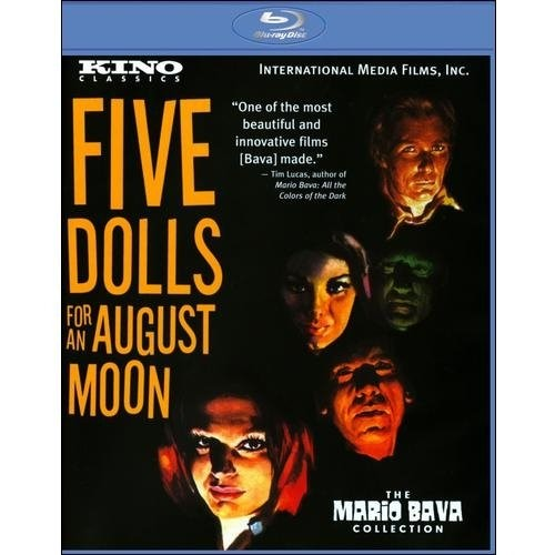 5 Dolls for an August Moon [Blu-ray]