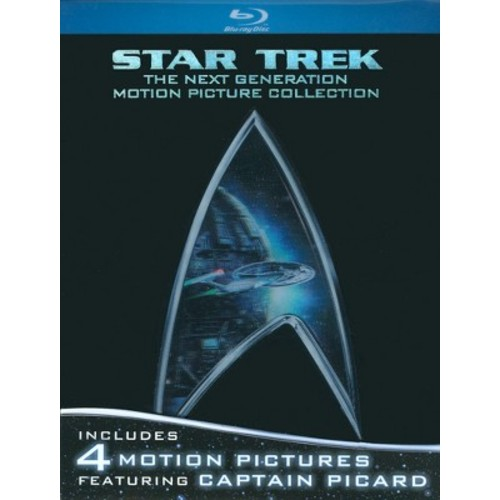 Star Trek: Next Generation Motion Picture Collection (Blu-Ray)