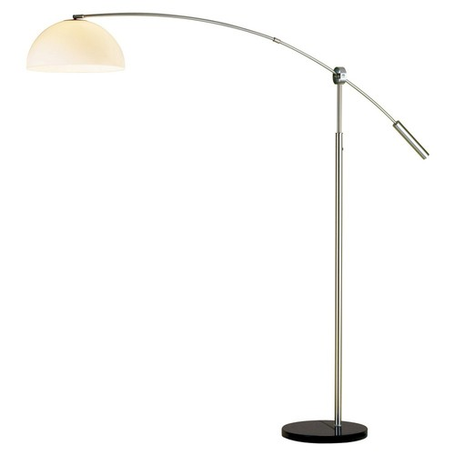 Outreach Arch Lamp, Satin Steel