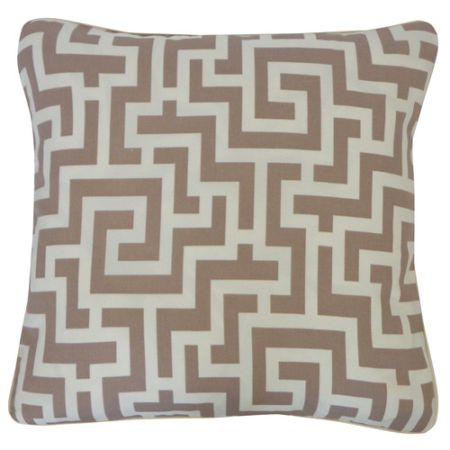 Etch Outdoor Pillow Taupe