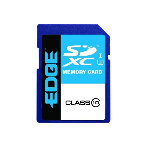 EDGE Tech Flash memory card - 64 GB - UHS-I U3 / Class10 - SDXC UHS-I (PE248727)