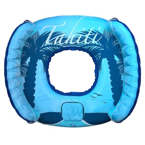 Blue Wave Drift + Escape 4-Person Inflatable Float